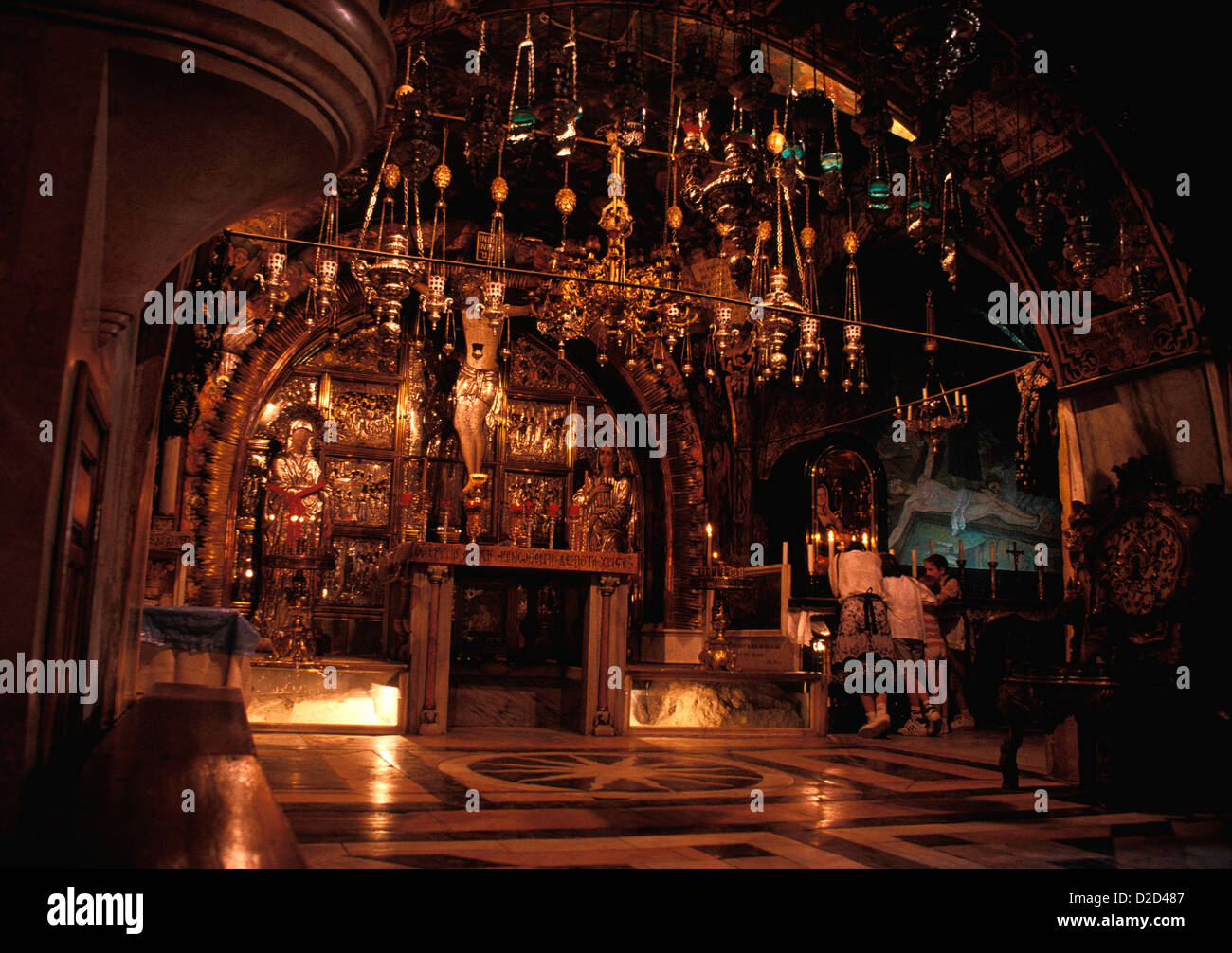 Israel, Jerusalem. Church Of The Holy Sepulchre. - Stock Image