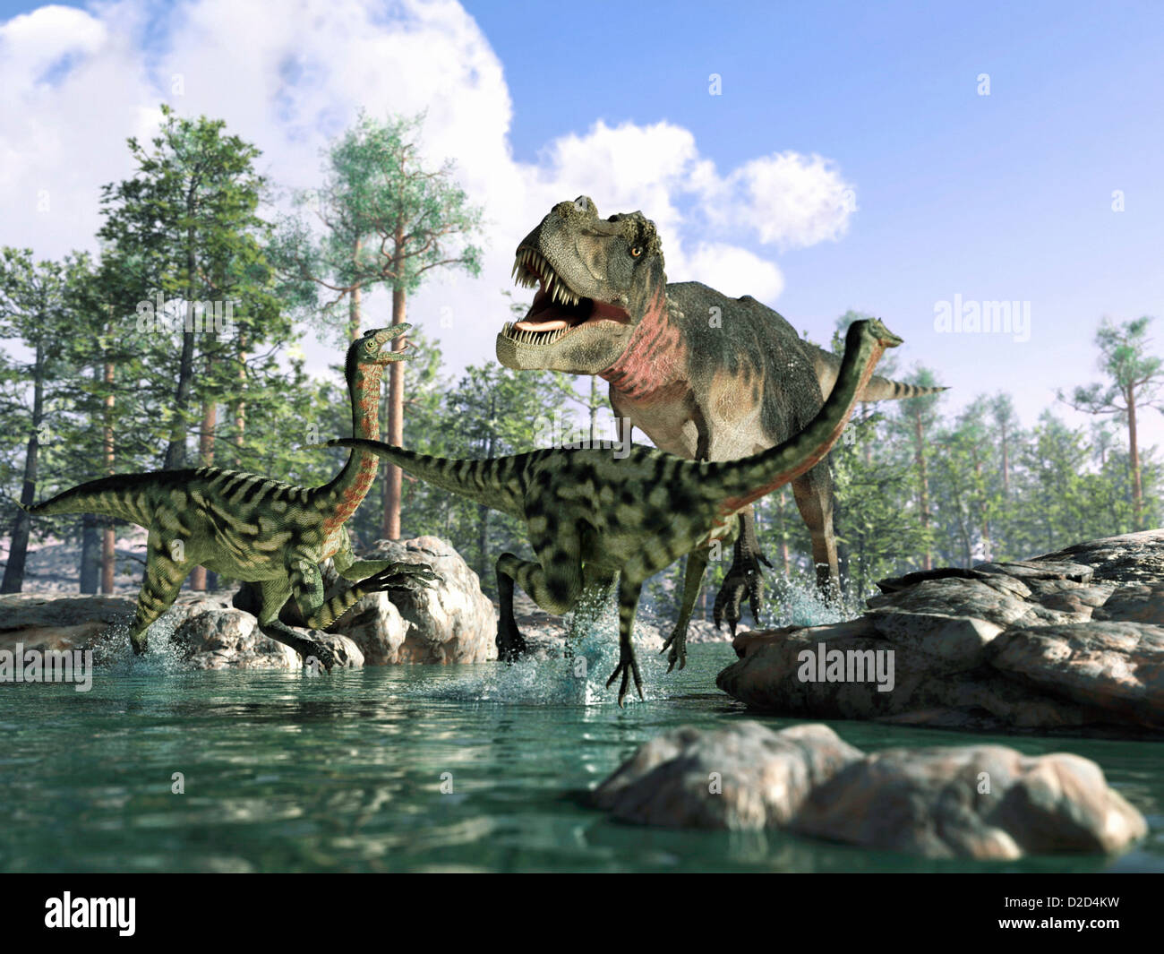 Dinosaur Habitat Stock Photos Dinosaur Habitat Stock Images Alamy