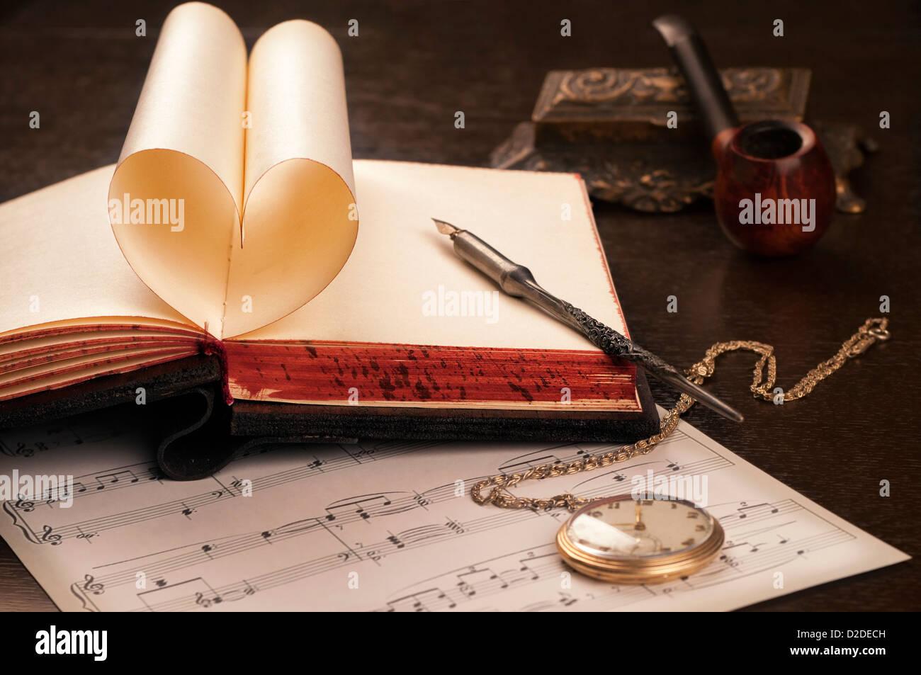Love letter - Stock Image