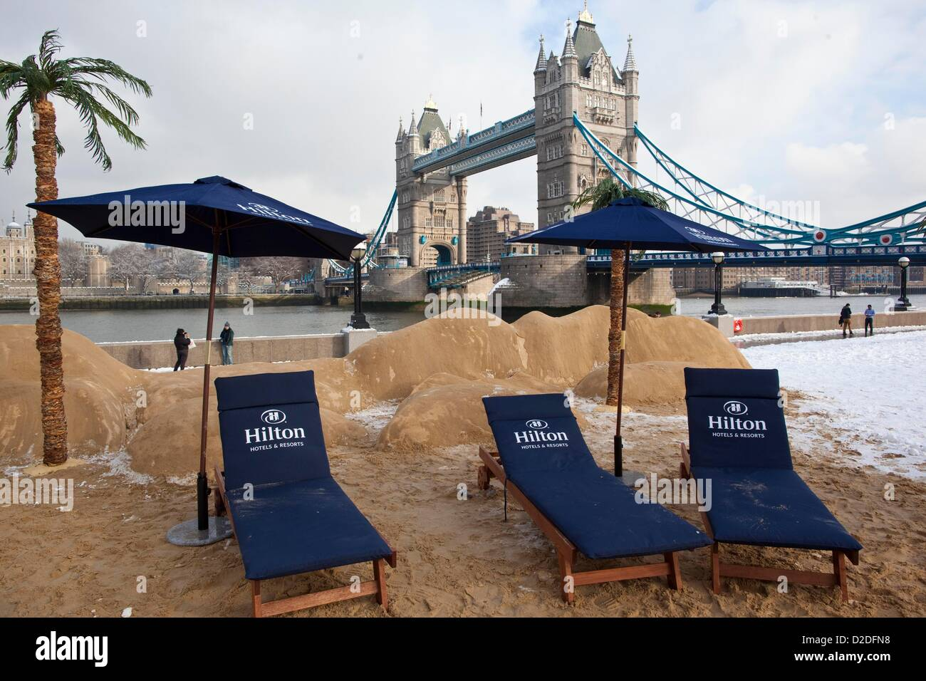 Hilton Hotels Resorts Brighten Up Blue Monday For Londoners Today