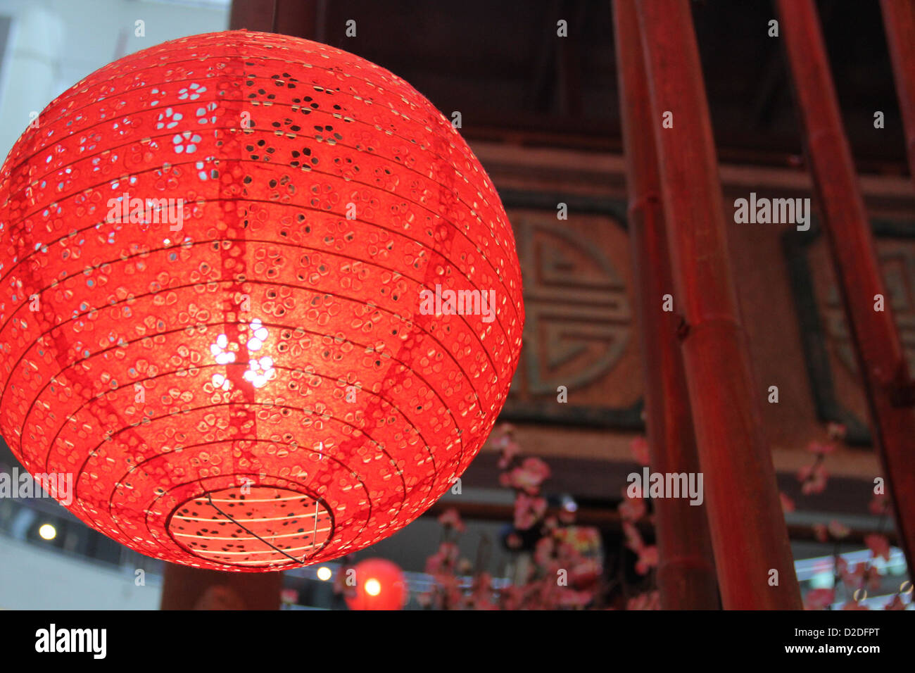 Chinese New Year Decorations Tang Long - Stock Image