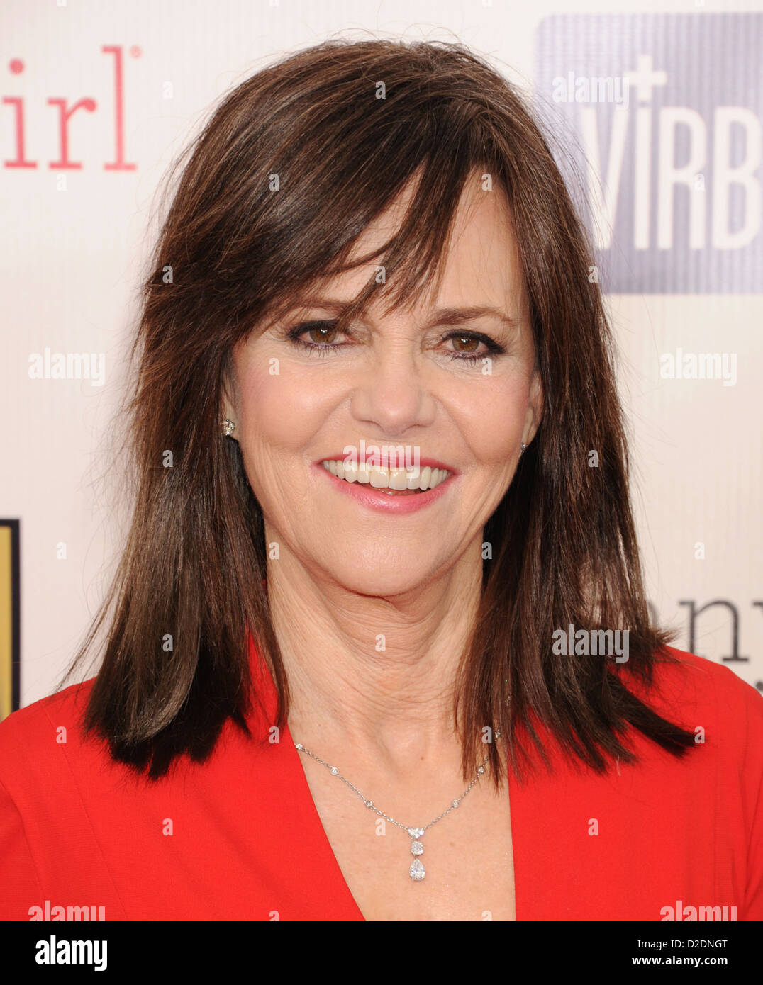 SALLY FIELD  US film actress in January 2013. Photo Jeffrey Mayer - Stock Image