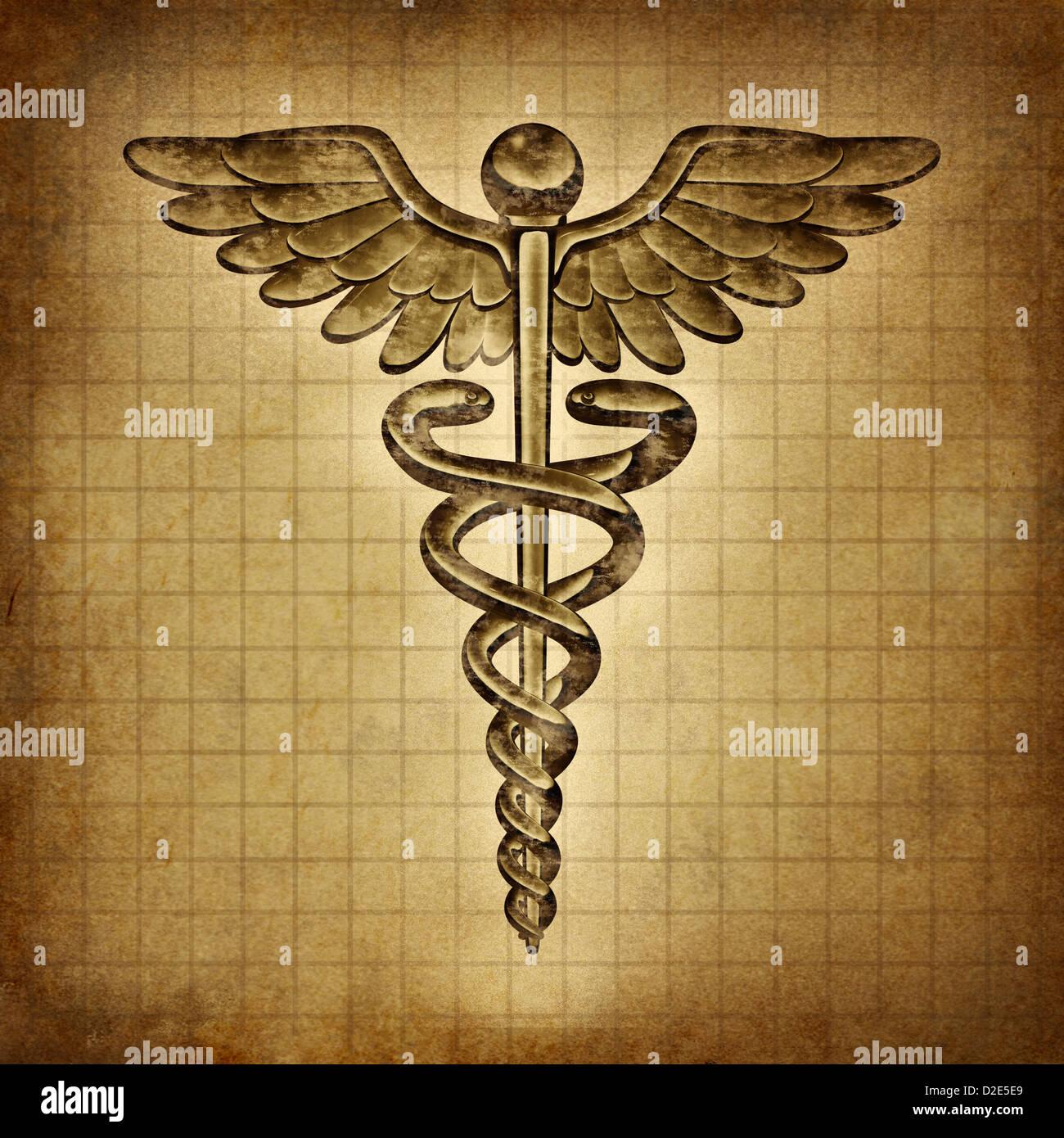 Medical Symbol Caduceus Snake Stock Photos Medical Symbol Caduceus
