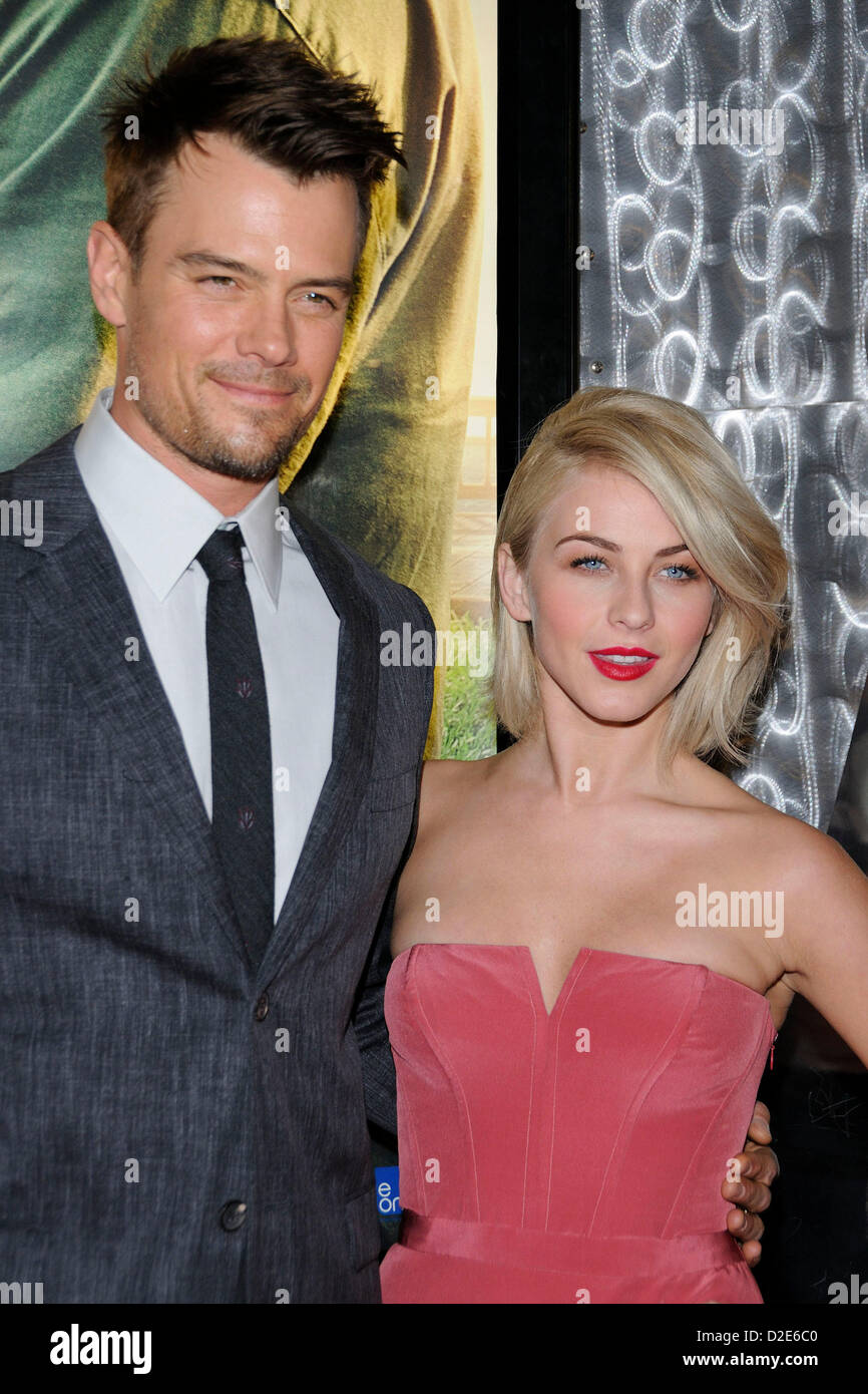 January 21, 2013. Toronto, Canada. Actor Josh Duhamel and actress Julianne Hough attend the Canadian premiere of - Stock Image