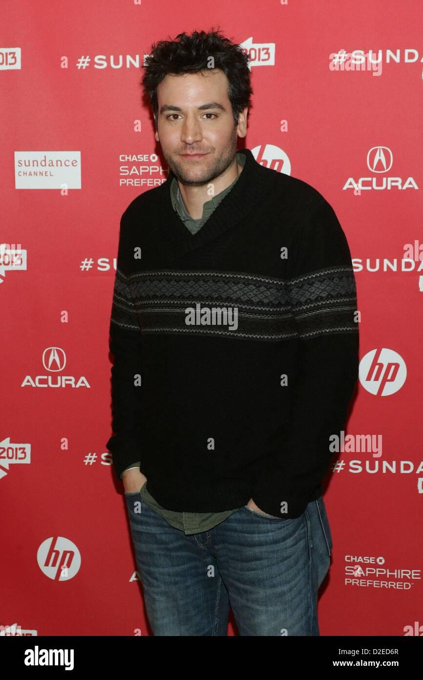 Josh Radnor arrivals AFTERNOON DELIGHT Premiere 2013 Sundance Film Festival Eccles Theatre Park City UT USA January - Stock Image