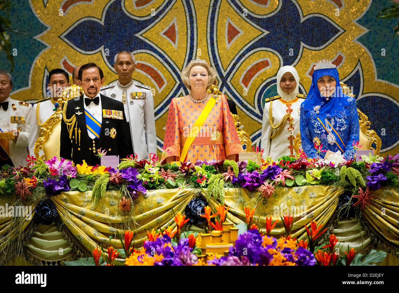 sultan hassanal bolkiah brunei wife stock photos amp sultan