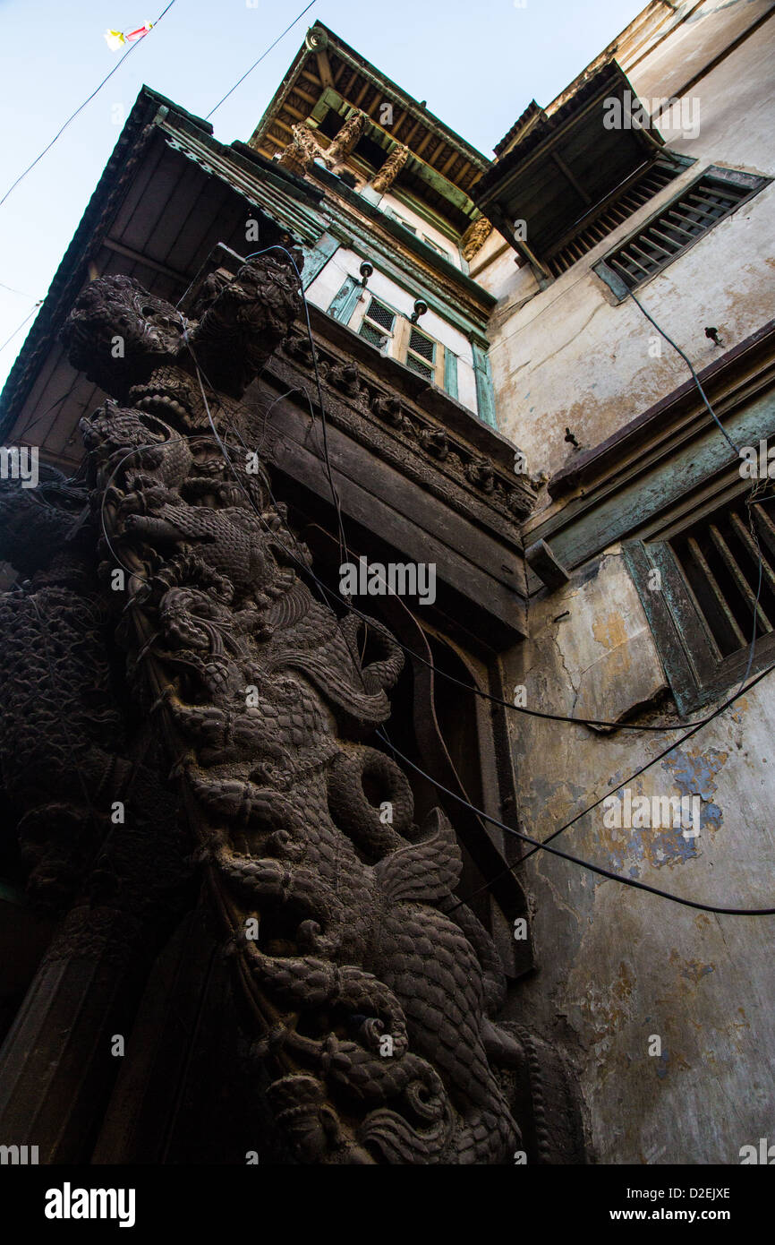 Ahmedabad, Gujarat, India (seen on the Heritage Walking Tour) - Stock Image
