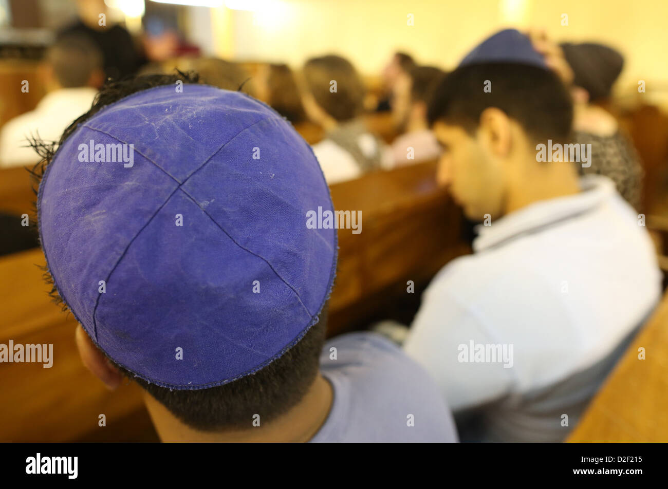 Don Isaac Abravanel synagogue. Jews Paris. France. - Stock Image