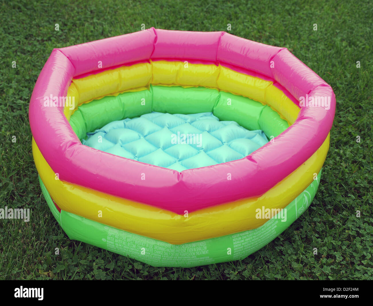 Small Empty Colorful Inflatable Plastic Swimming Pool For Kids