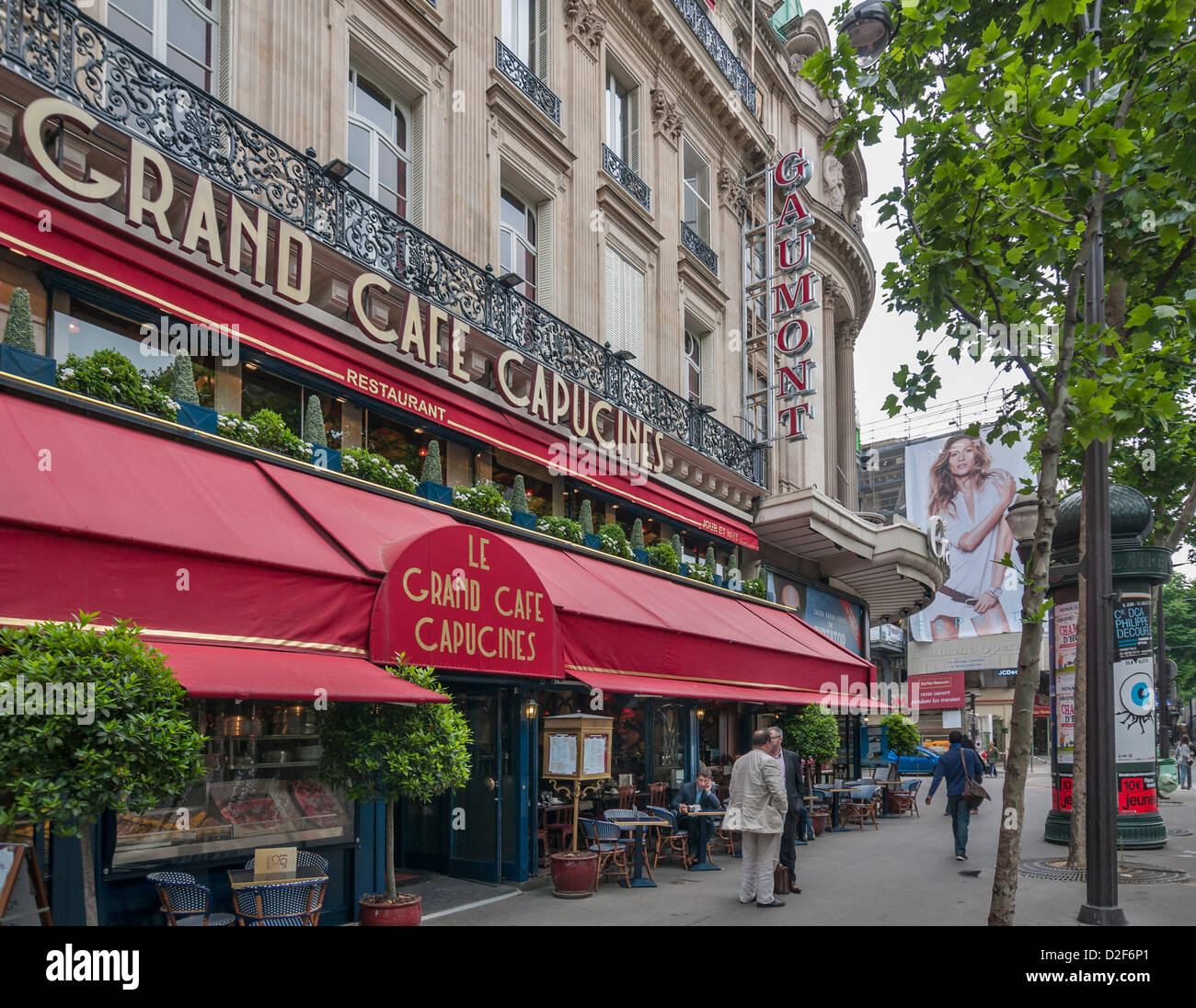 Le Grand Cafe Capucines in Paris,france Stock Photo: 53195017 - Alamy