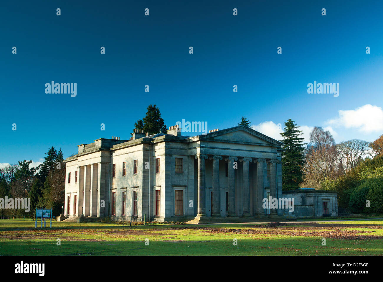 Camperdown House, Camperdown Country Park, Dundee - Stock Image