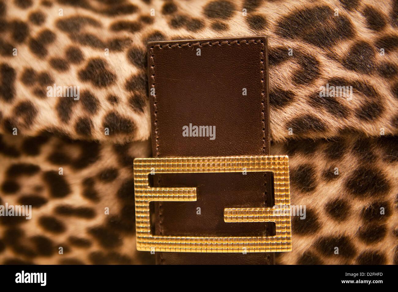 Bag Fendi Baguette in Fendi store in Prague, Czech Republic on June 14, 2012 3bf9c0a05ab
