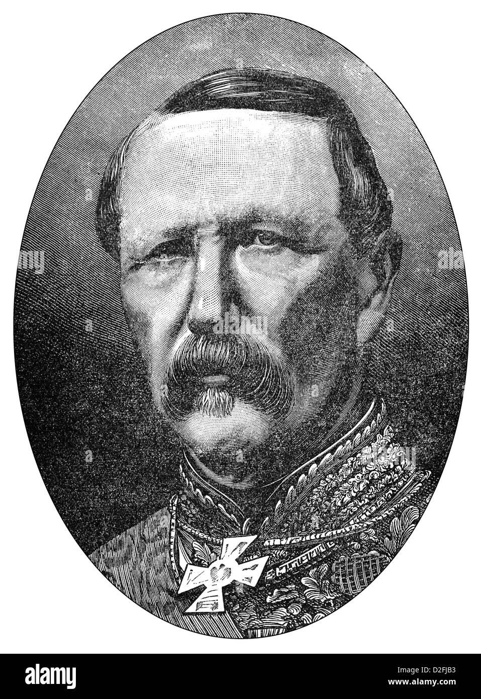 Marie Edme Patrice Maurice, Comte de Mac-Mahon, Duc de Magenta, 1808-1893,  president of the Third Republic - Stock Image
