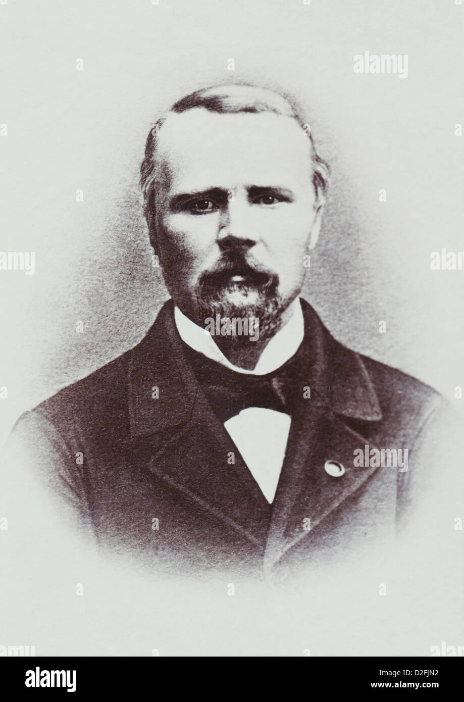 Pierre Louis Charles Achille de Failly, 1810-1892, French General in the Franco-Prussian War or Franco-German War 1870-1871 Stock Photo