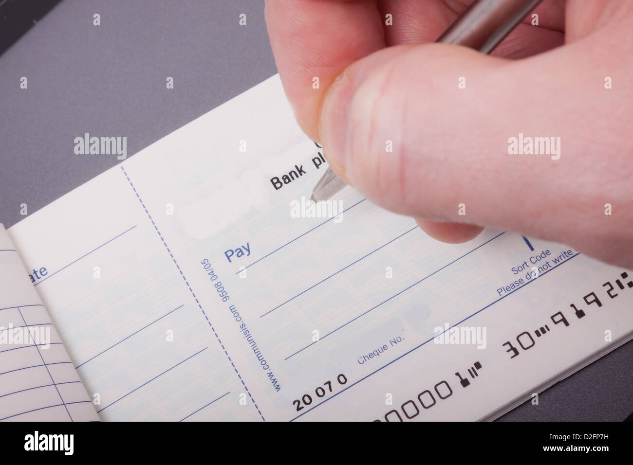 check book and pen stock photo 53207157 alamy