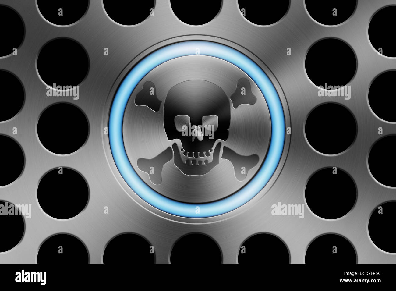 Internet piracy / online safety / cyber security / ransomware virus /  cyber crime/ copyright concept - Stock Image