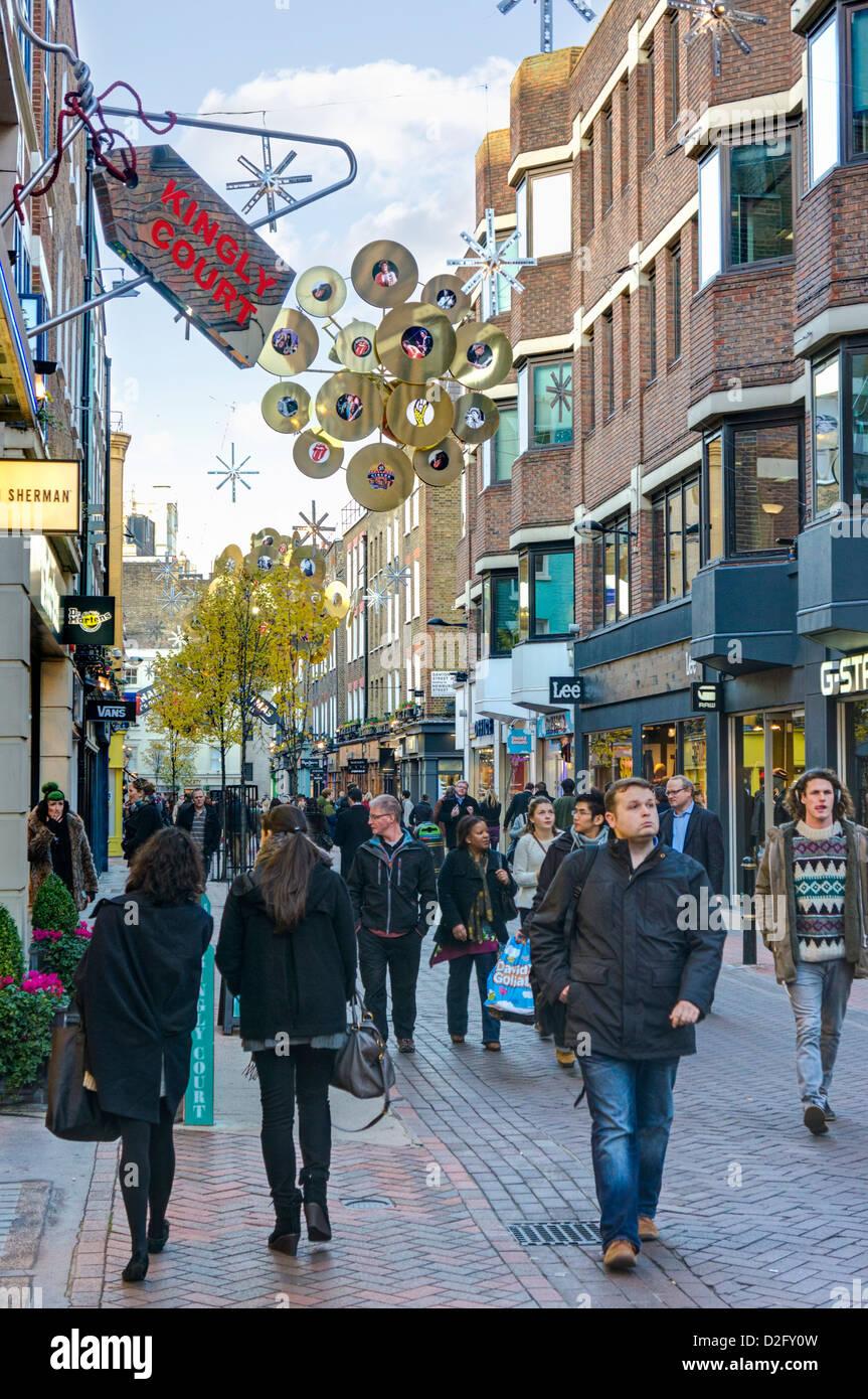 Carnaby Street, London, UK - Stock Image