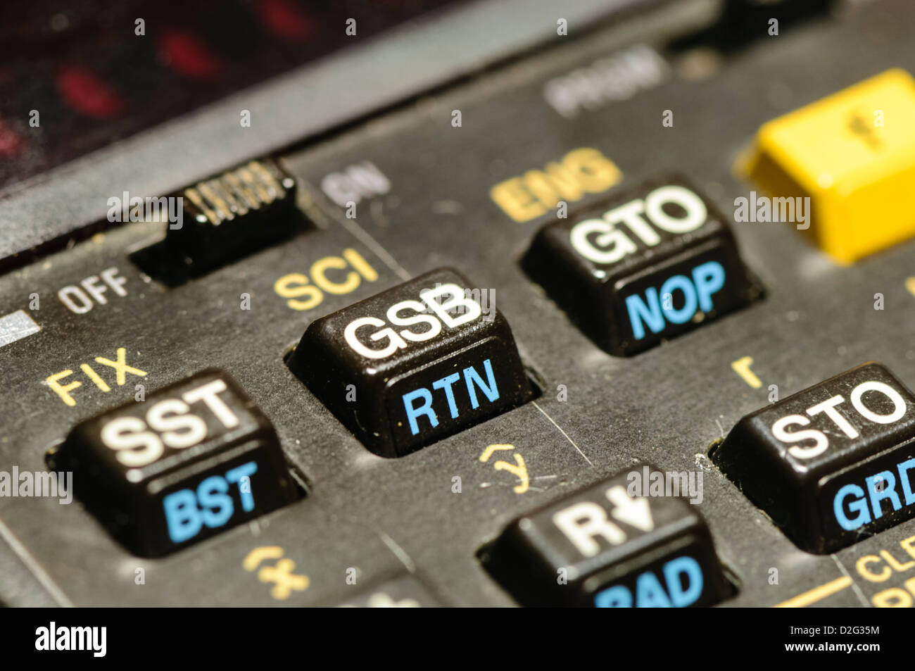 Scientific Calculator Stock Photos Circuitry Of An Electronic Royalty Free Photography Hewlett Packard Hp 33e Programmable From 1978 Which Uses Reverse Polish Notation