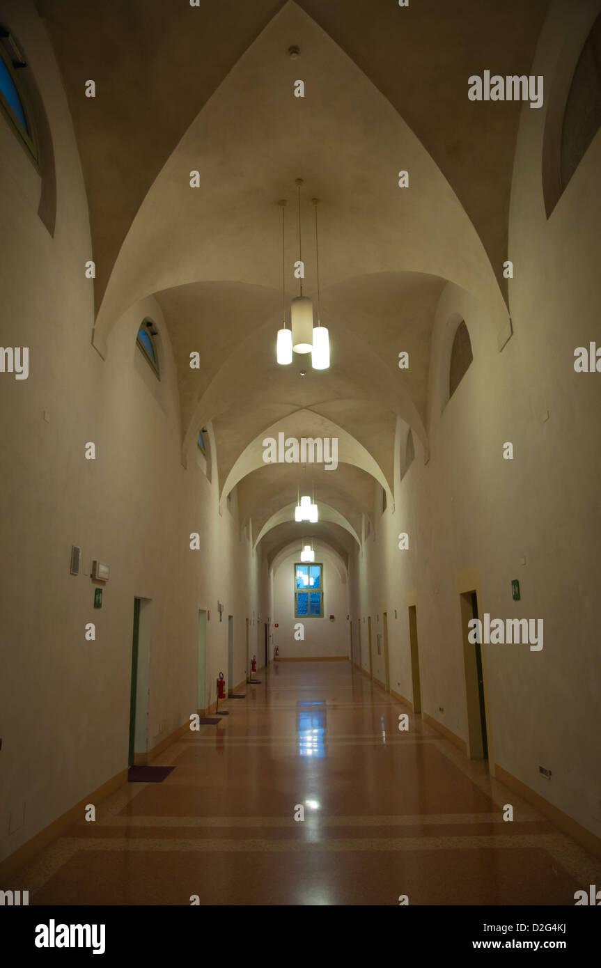 Ostello Basilica della Ghiara accommodation in former convent Reggio Emilia city Emilia-Romagna region northern - Stock Image
