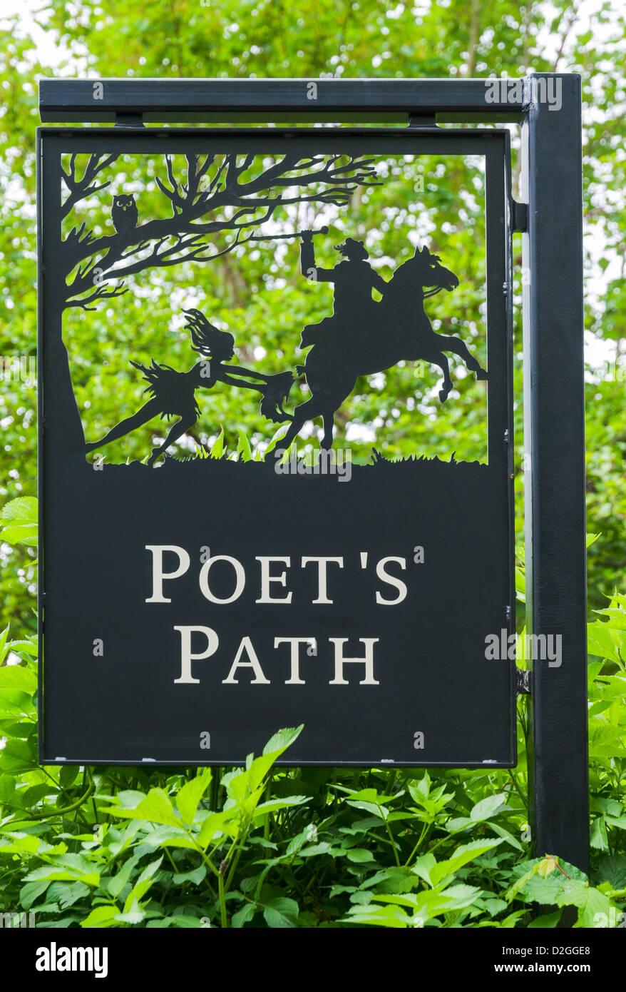 Scotland, South Ayrshire, Alloway, birthplace of Scotland's National Poet Robert Burns (1759-96), Poet's - Stock Image