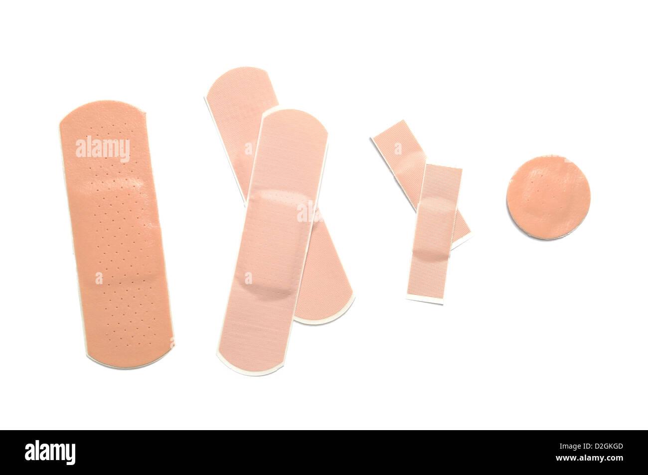 Adhesive bandage - Stock Image