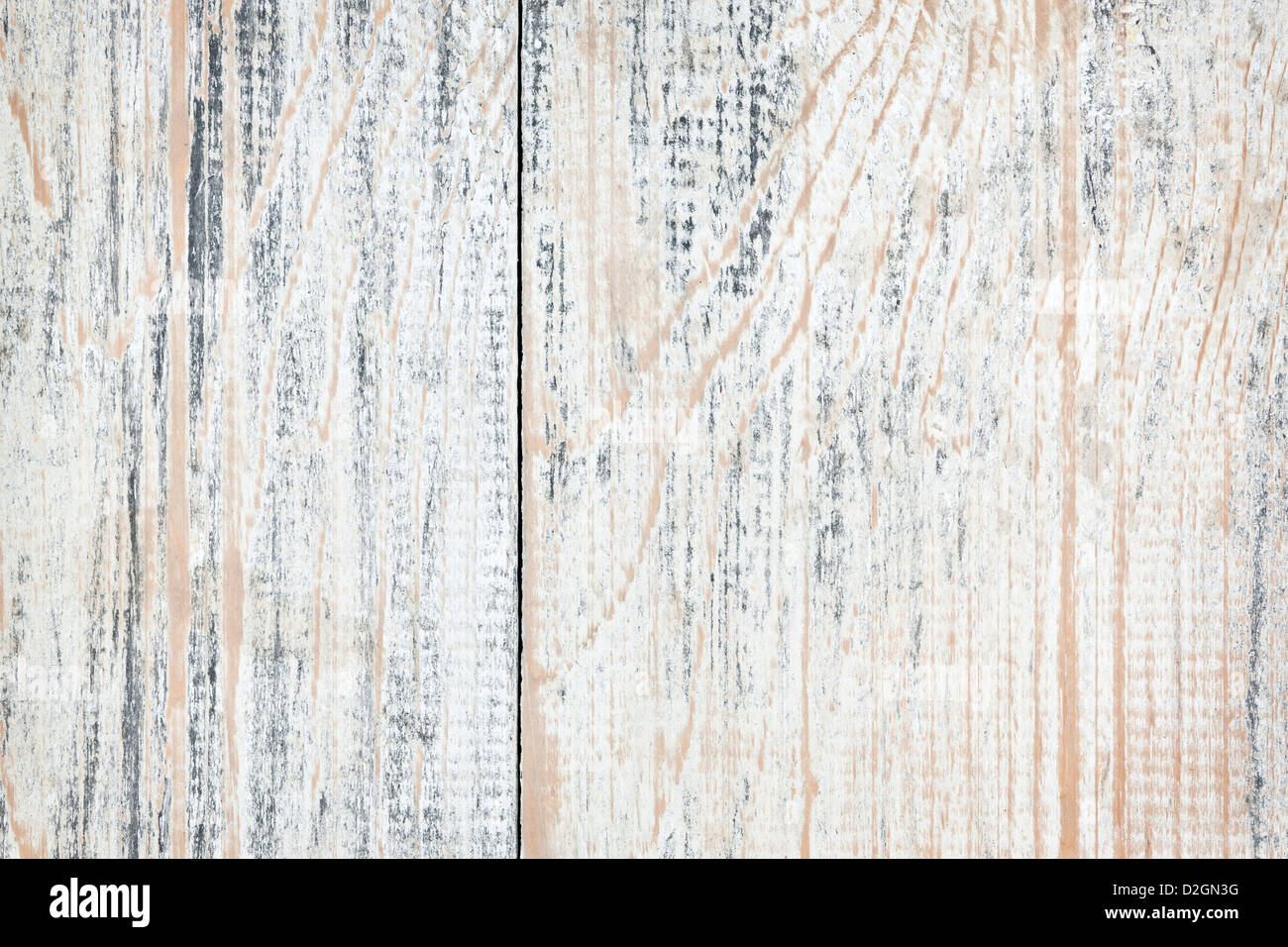 Background of distressed old painted wood texture - Stock Image