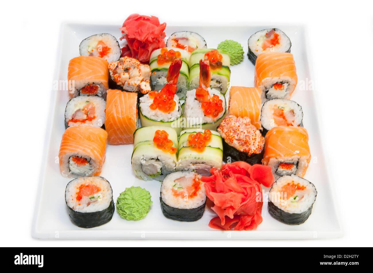 Japanese sushi - Stock Image