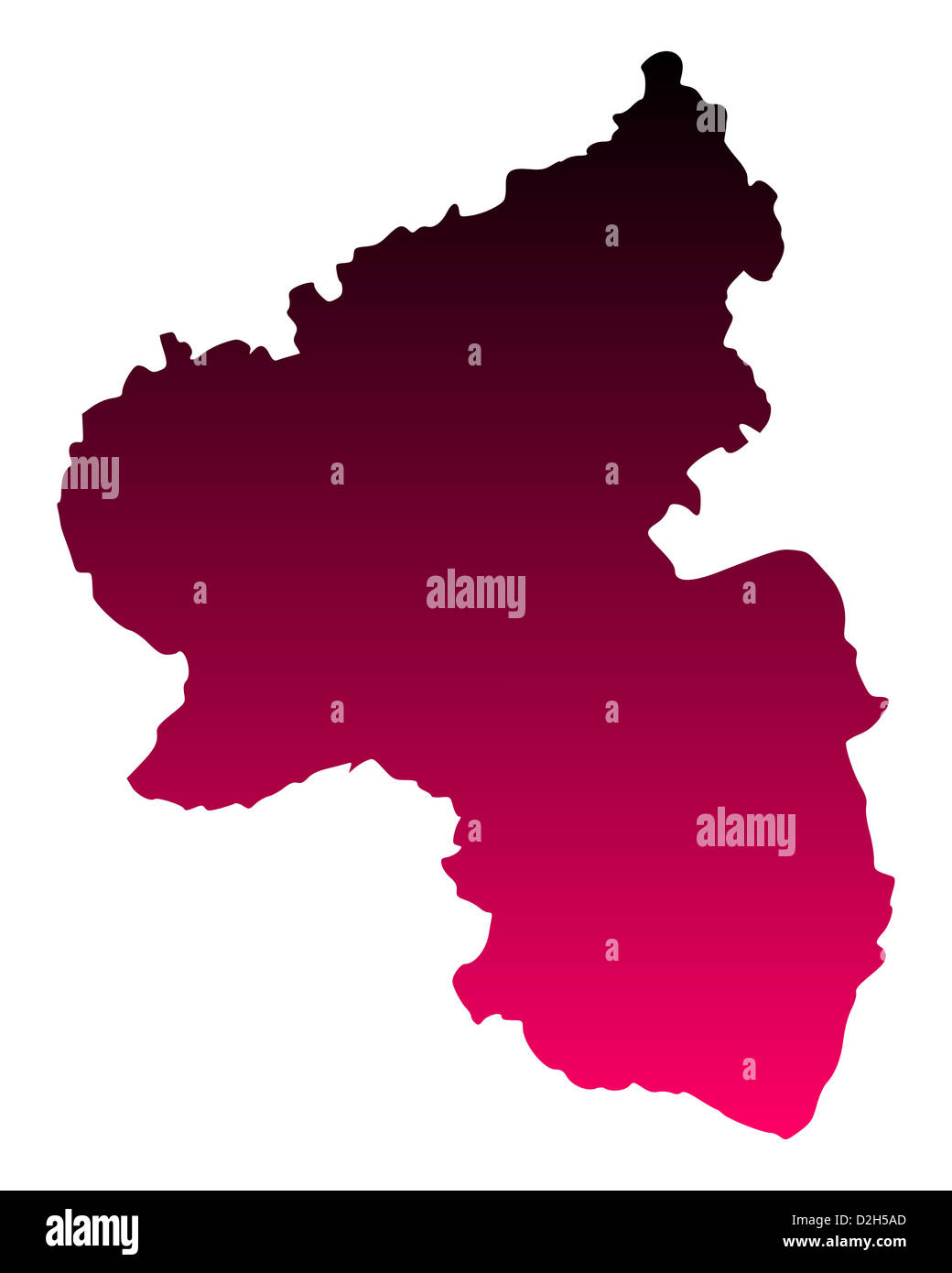 Map Germany Rheinland Pfalz Stock Photos Map Germany Rheinland