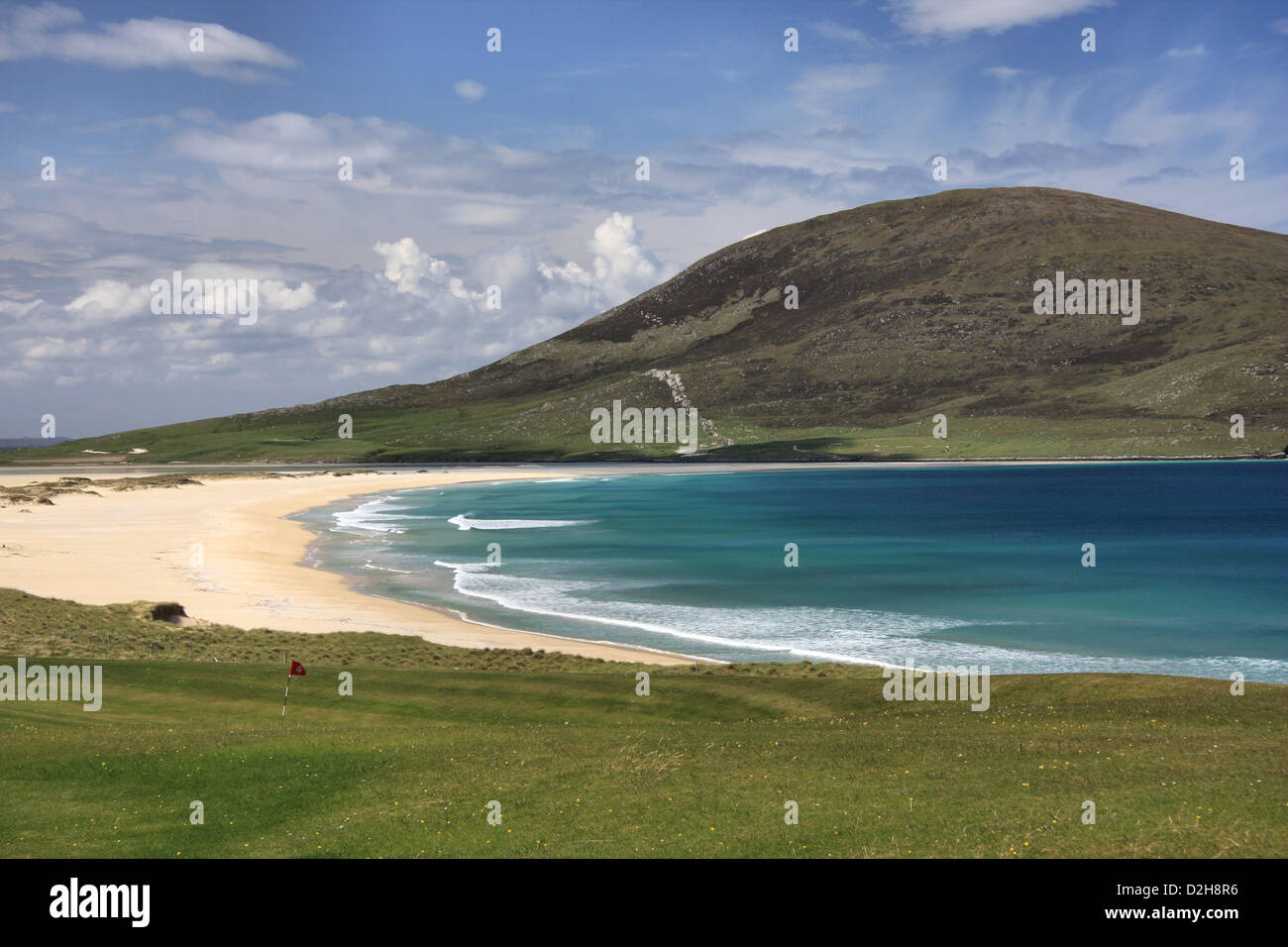 Stunning Scarista beach on the Isle of Harris, Outer Hebrides, Scotland - Stock Image
