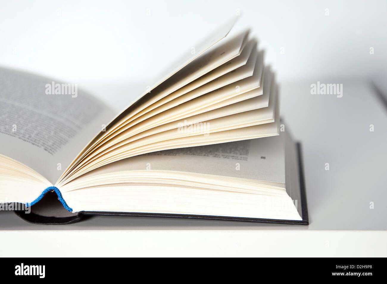 Berlin, Germany, open book - Stock Image