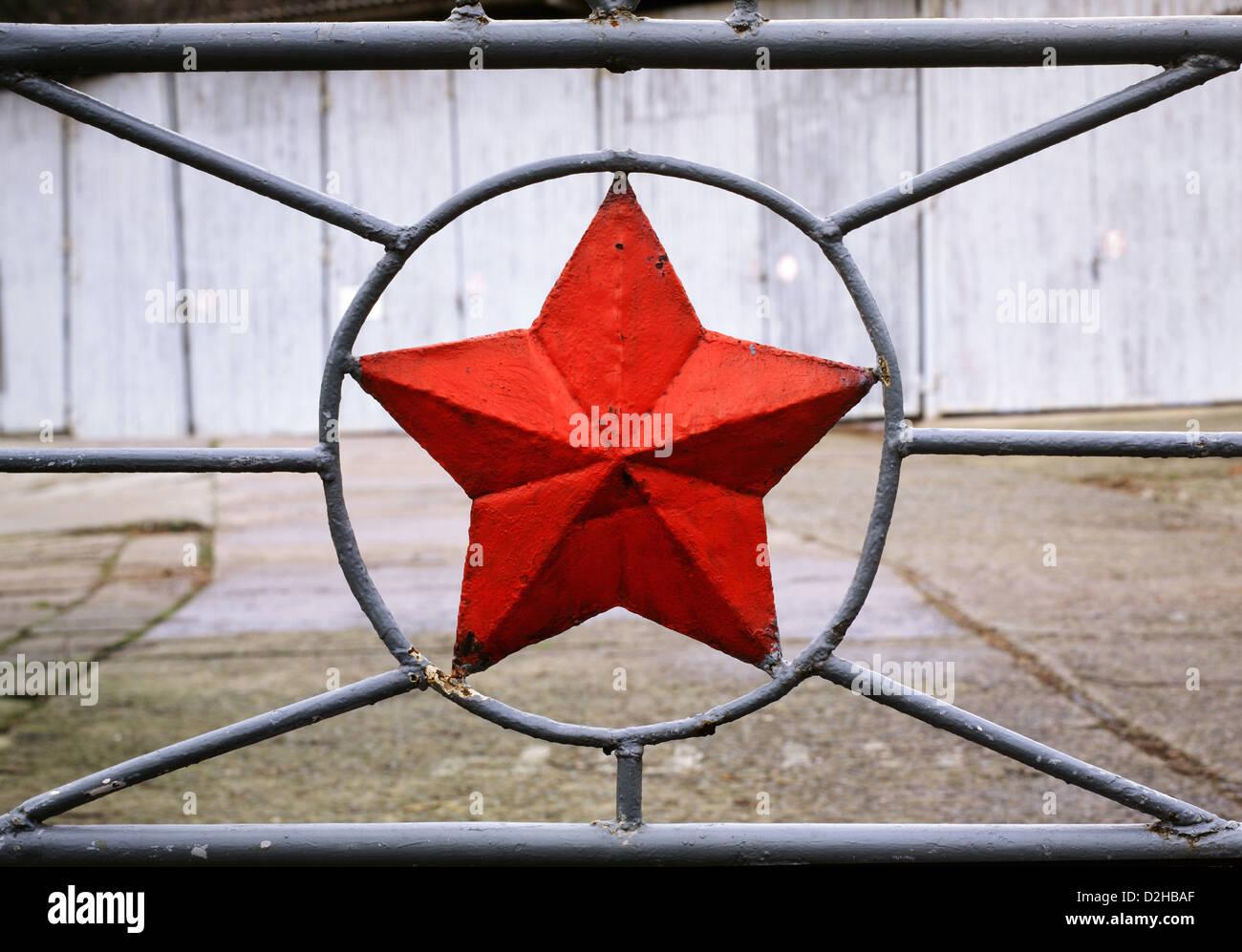 Potsdam, Germany, remnants of the Soviet Militaerstaedtchens No. 7 - Stock Image