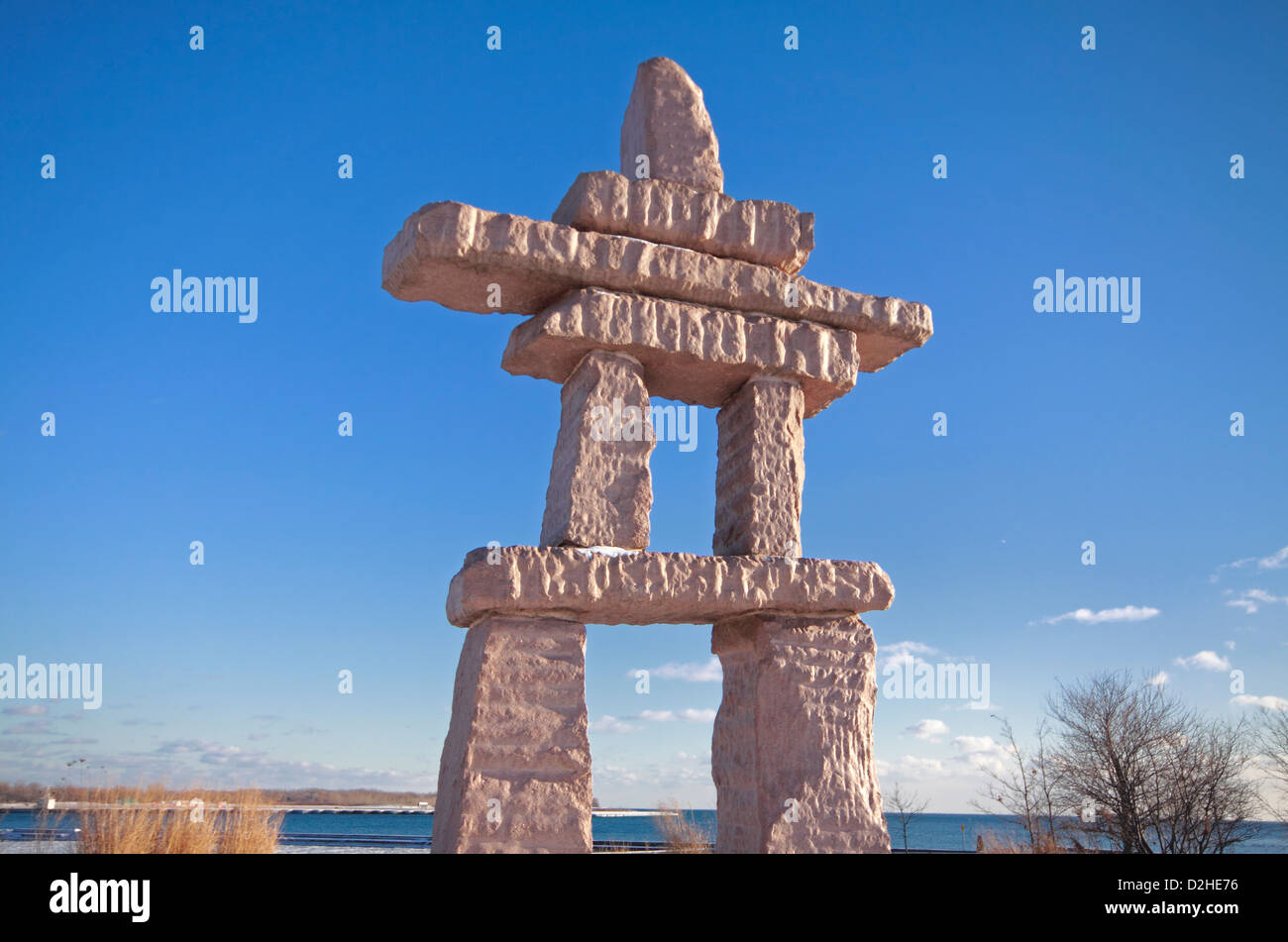 Inukshuk Canada Stock Photos Inukshuk Canada Stock Images Alamy