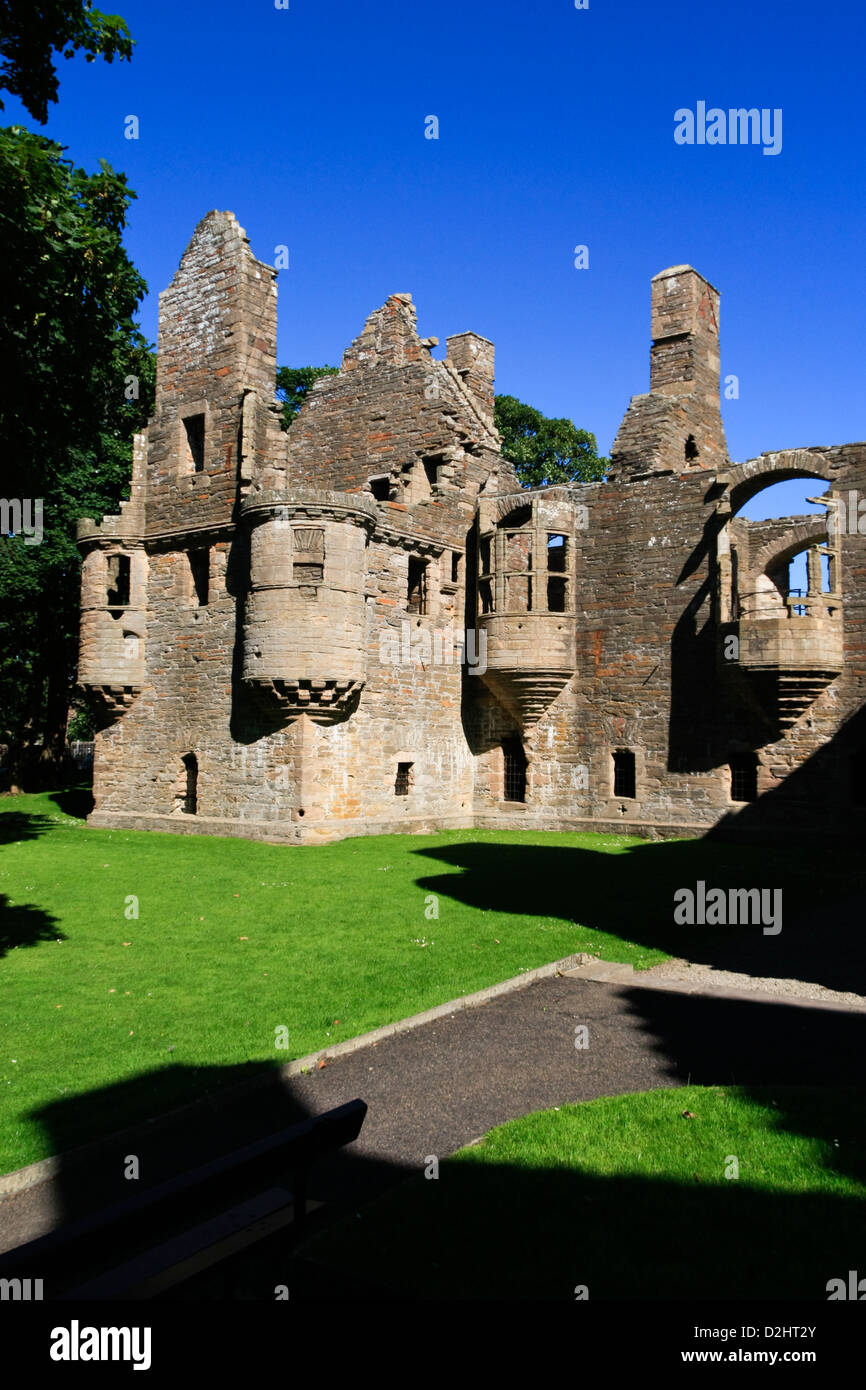 Earl's Palace, Kirkwall, Orkney isles - Stock Image