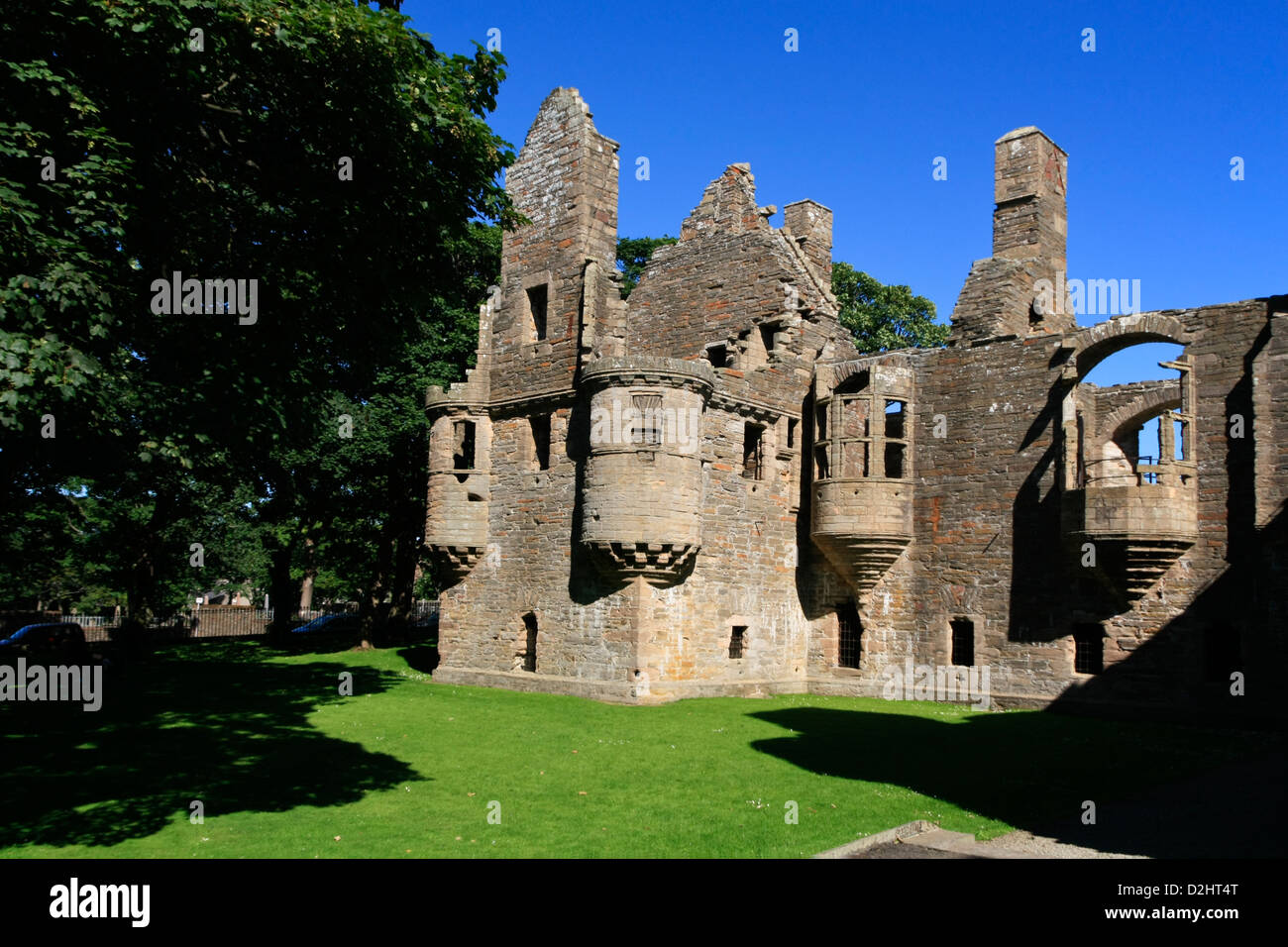 Orkney, Earl's Palace - Stock Image