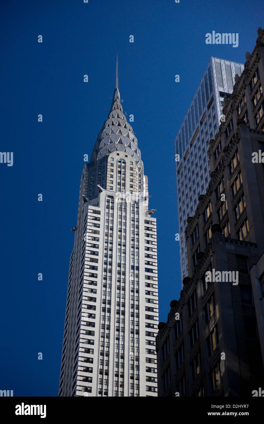 Chrysler Building, New York, USA - Stock Image