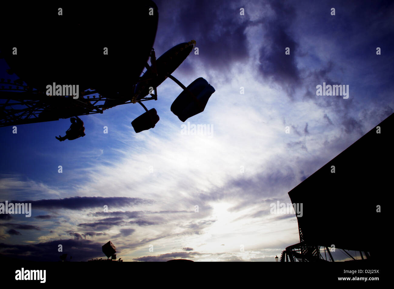 Skyward with our Dreams - Stock Image
