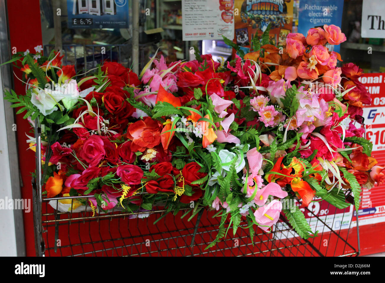 Fake Flowers For Sale Stock Photos Fake Flowers For Sale Stock