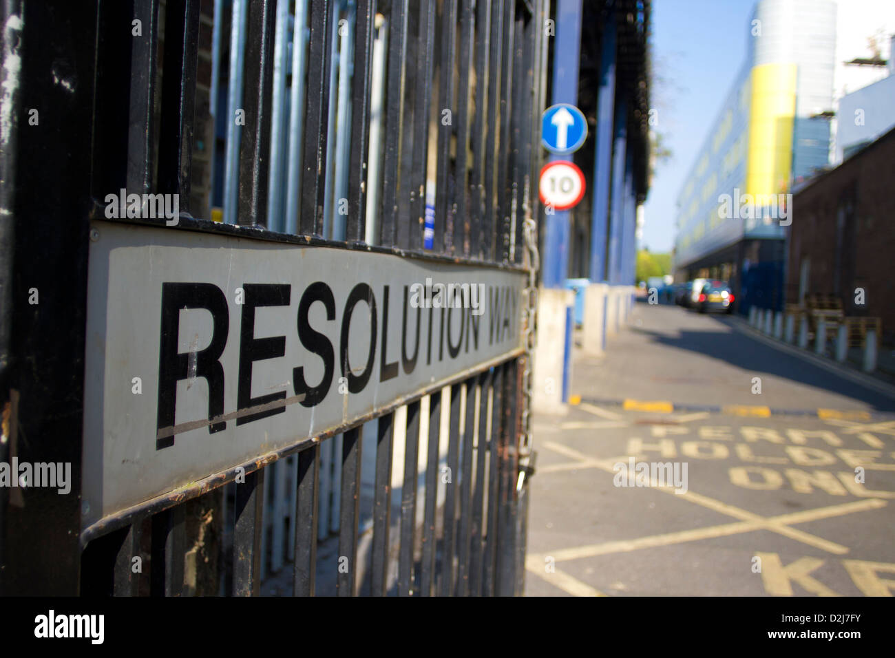 Resolution Way - Stock Image
