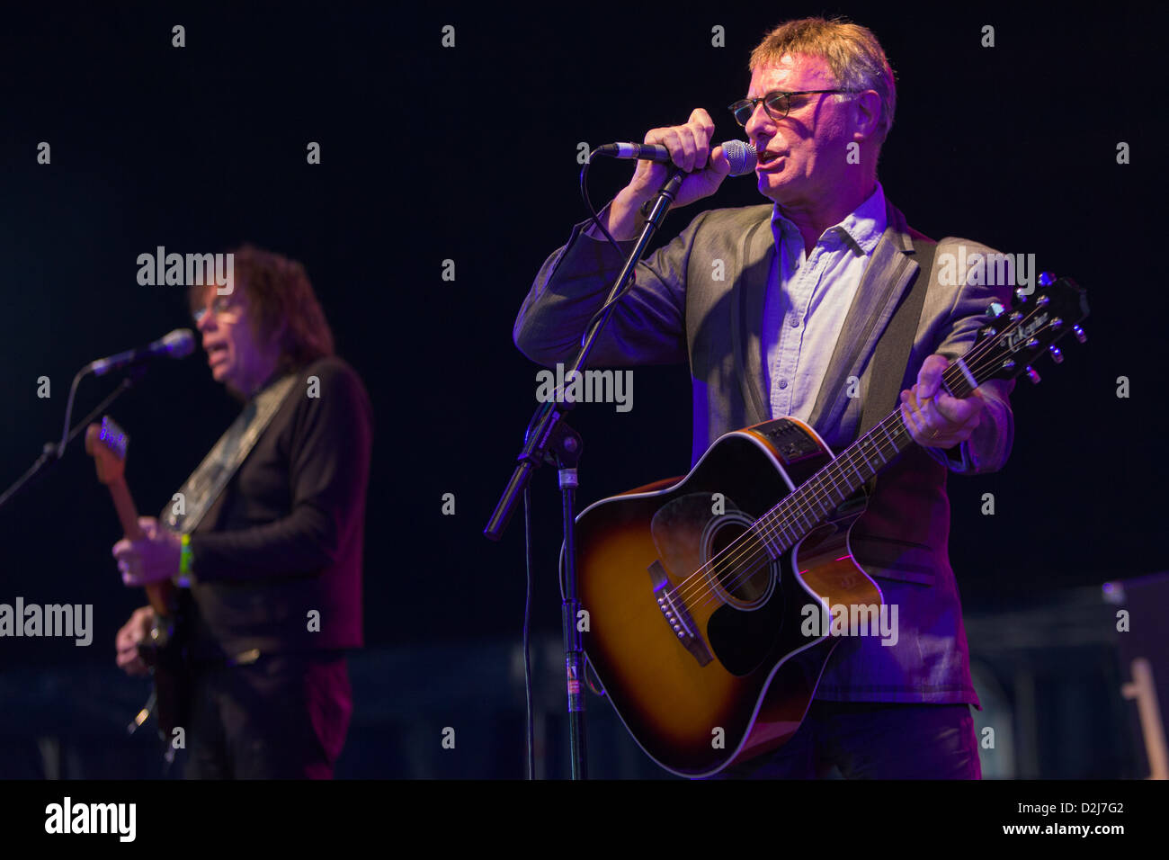 Steve Harley and Cockney Rebel - Stock Image