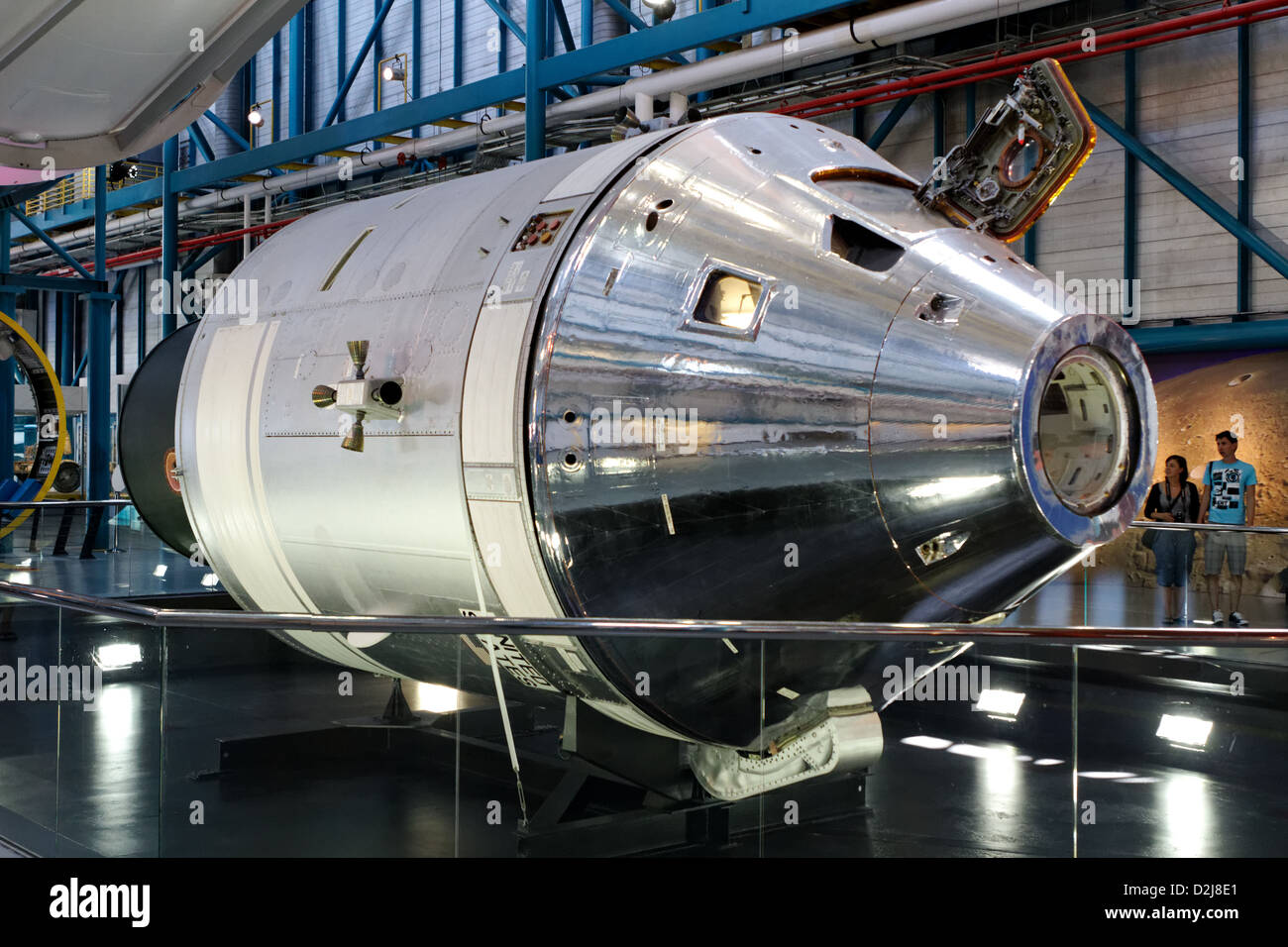 Apollo Spacecraft, Command and Service Modules - Stock Image
