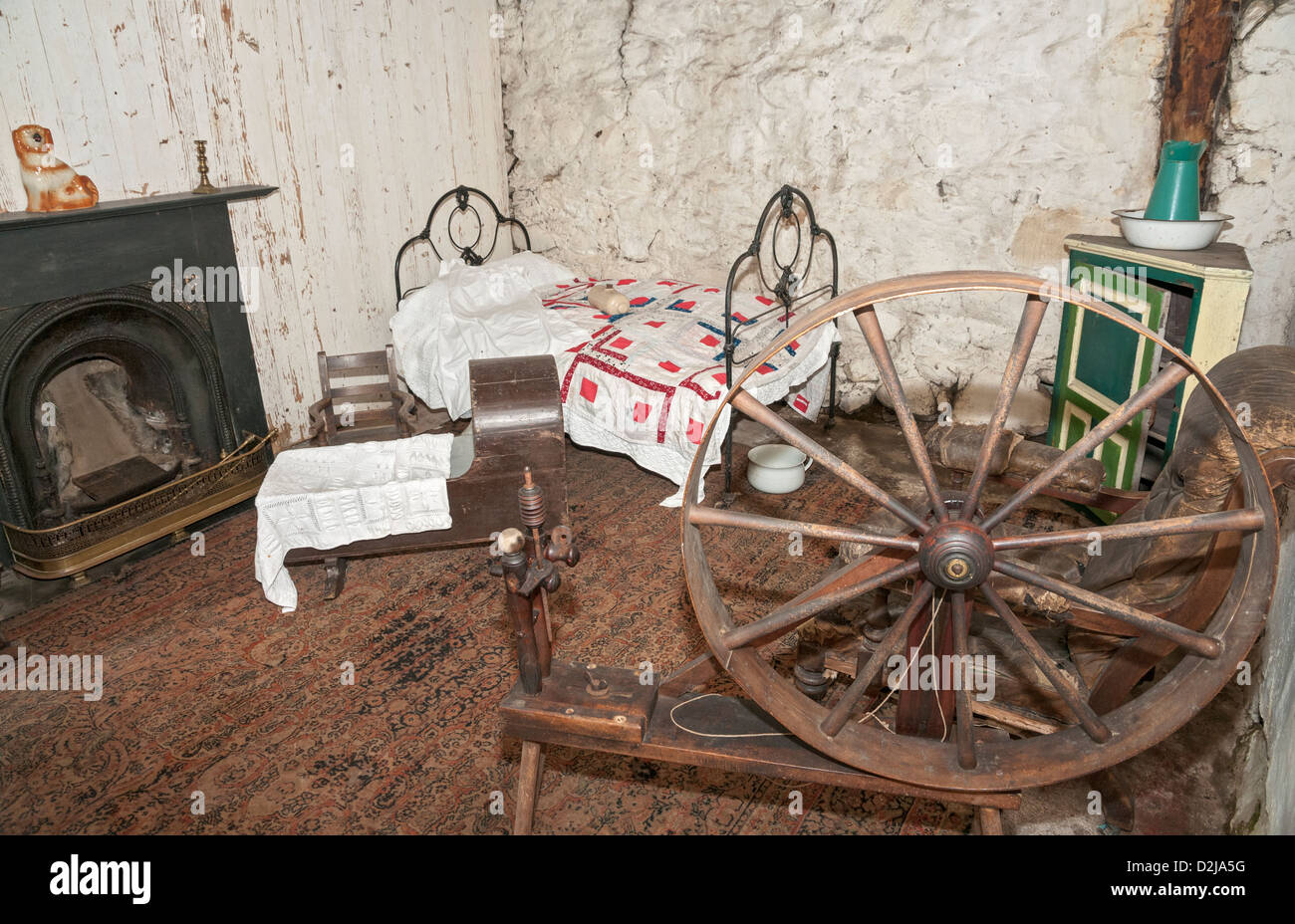Scotland, Auchindrain Township Open Air Museum Stock Photo