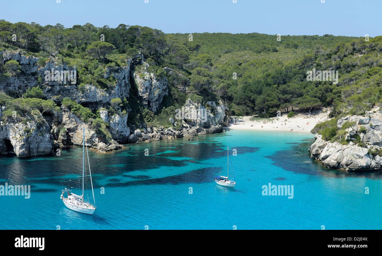 cala macarella beach spain