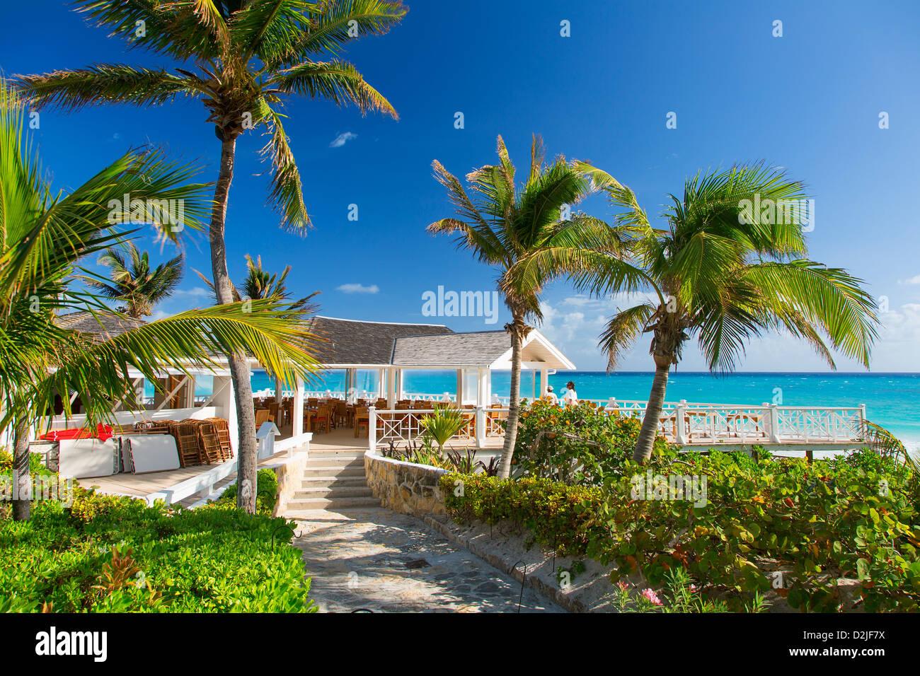 Caribbean Bahamas Harbor Island - Stock Image