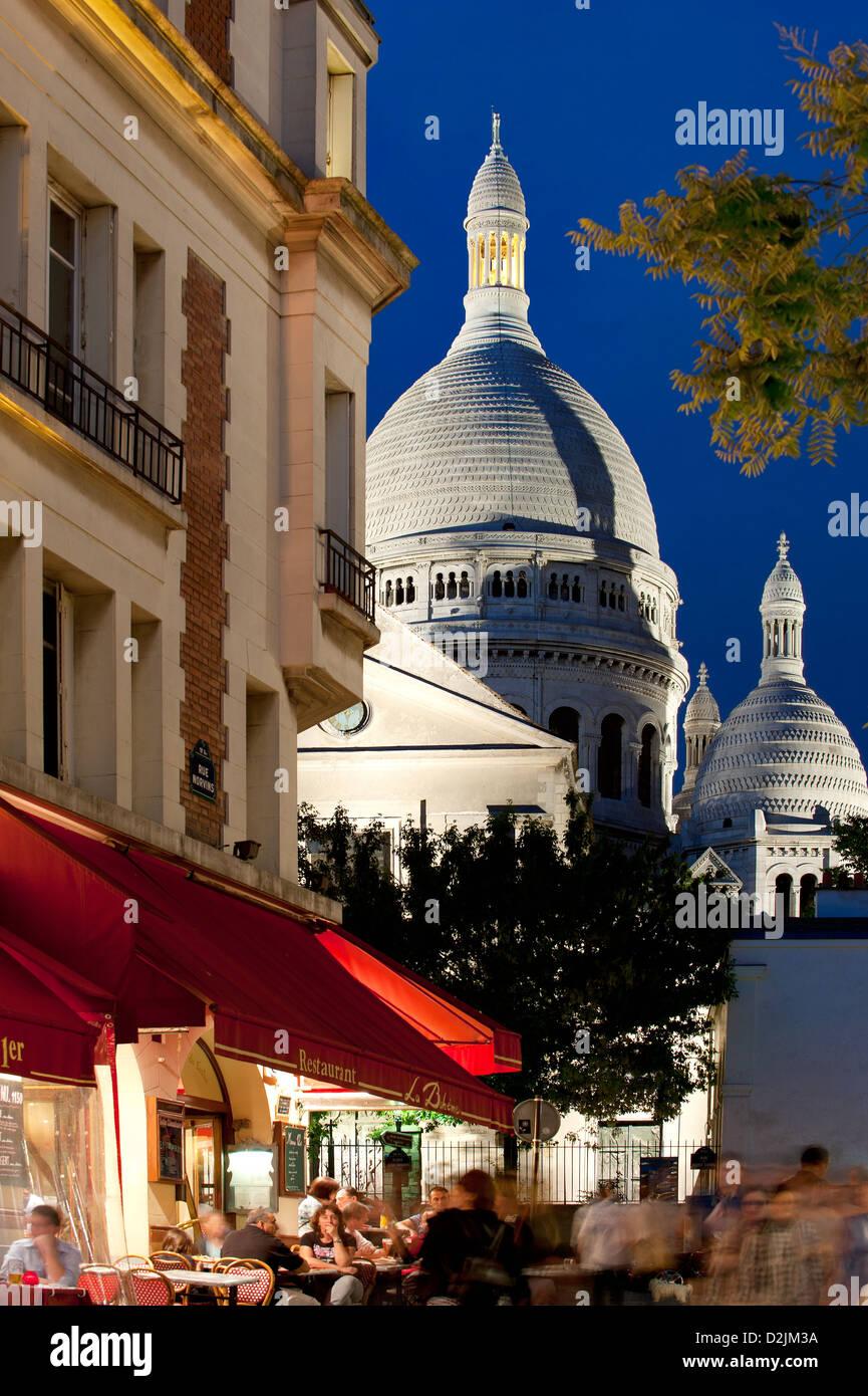 Artist Square at Montmartre Paris France - Stock Image
