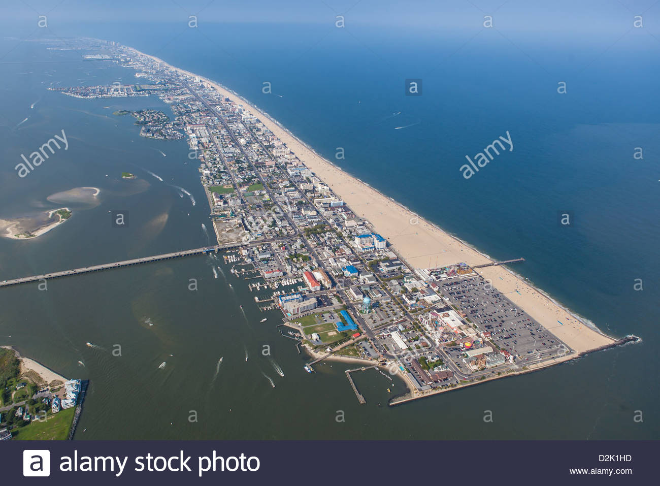 Is Ocean City Md An Island Or Peninsula