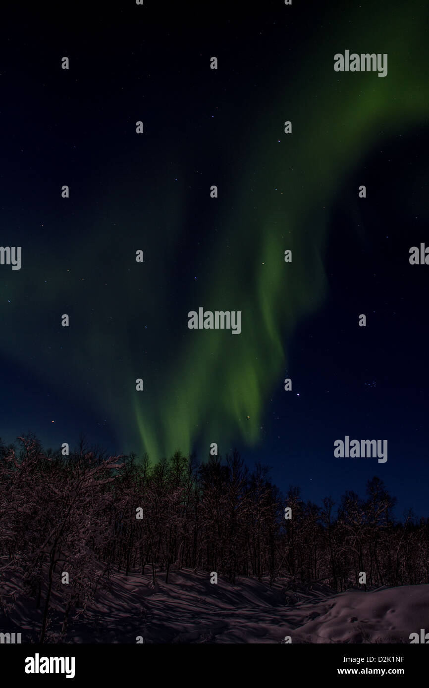 norther light - Stock Image