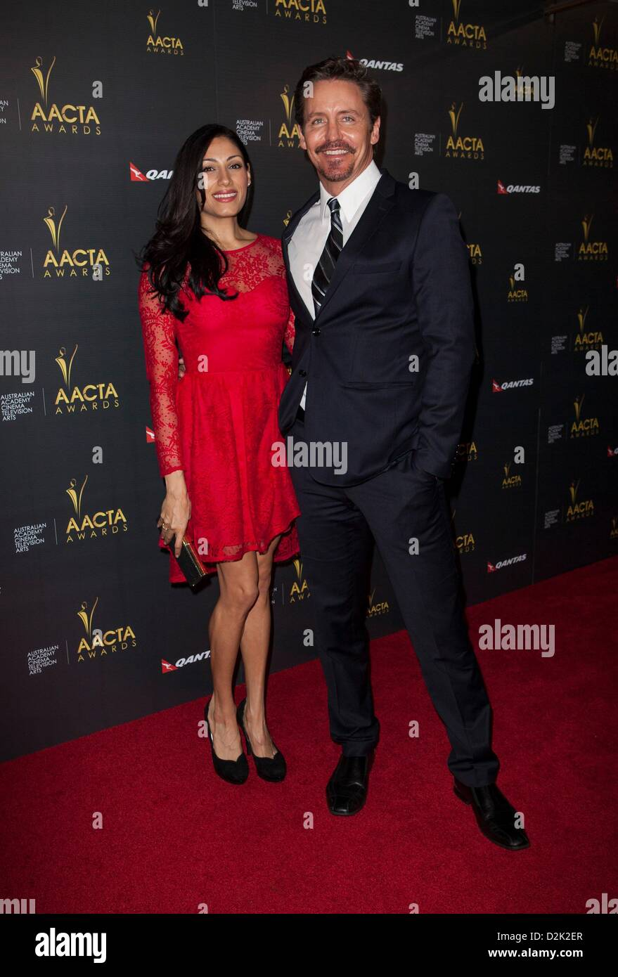 Tehmina Sunny Charles Mesure At Arrivals For 2nd Australian Academy Stock Photo Alamy