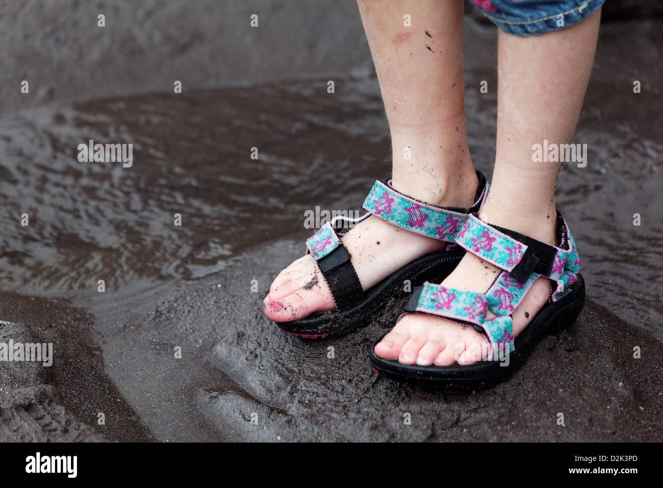 Teva Sandals High Resolution Stock