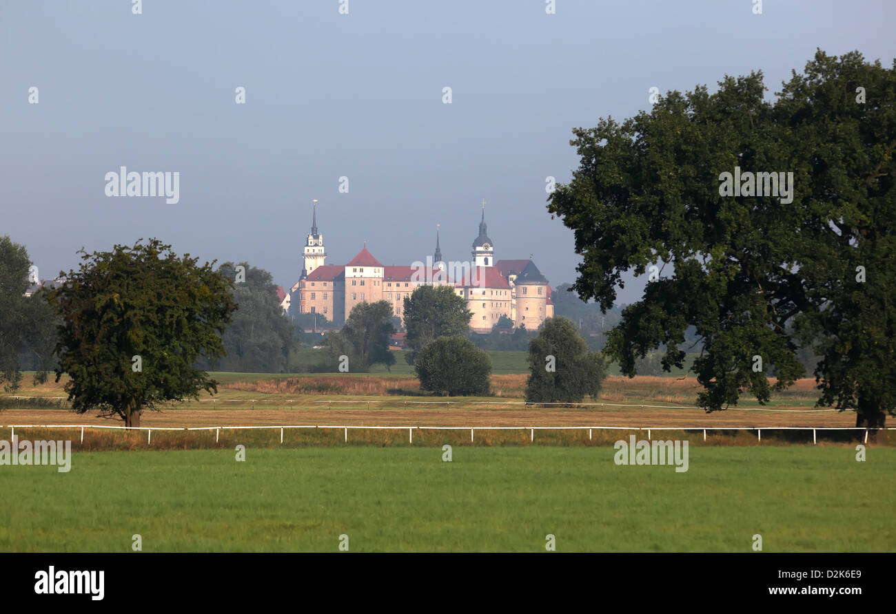 Torgau, Germany, Schloss Hartenfels Stock Photo