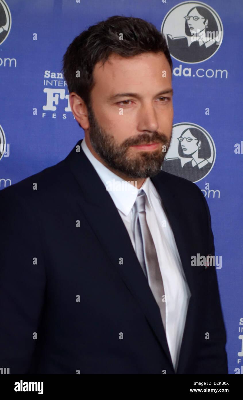 Ben Affleck attends Santa Barbara Film Festival - Stock Image